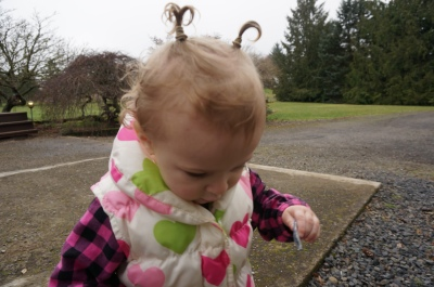 First pigtails!
