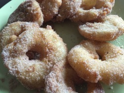 Apple fritters. Divine.