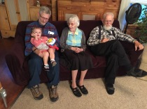 Three of four generations.