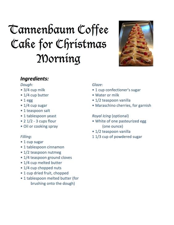 Tannenbaum Coffee Cake